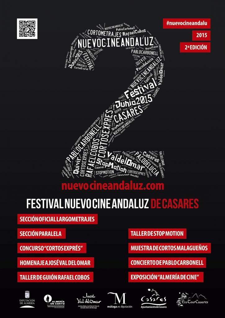 Cartel II edición Festival Nuevo Cine Andaluz