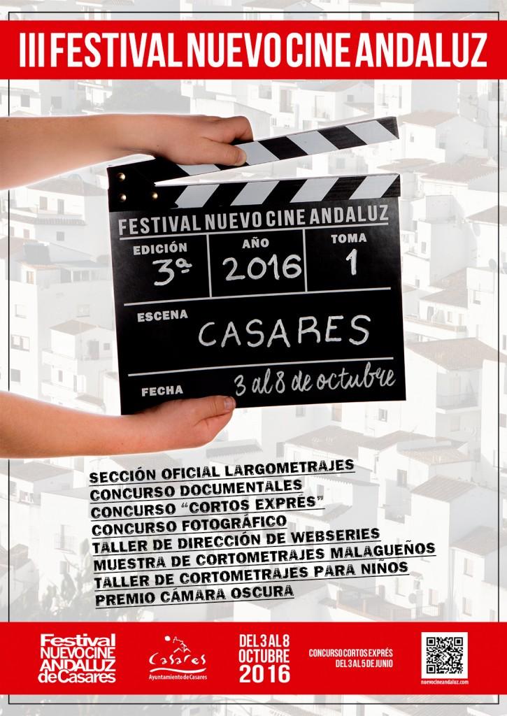 Cartel III edición Festival Nuevo Cine Andaluz