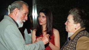 Carlos Álvarez, Ana Fernández y Maria Galiana, protagonistas de Solas