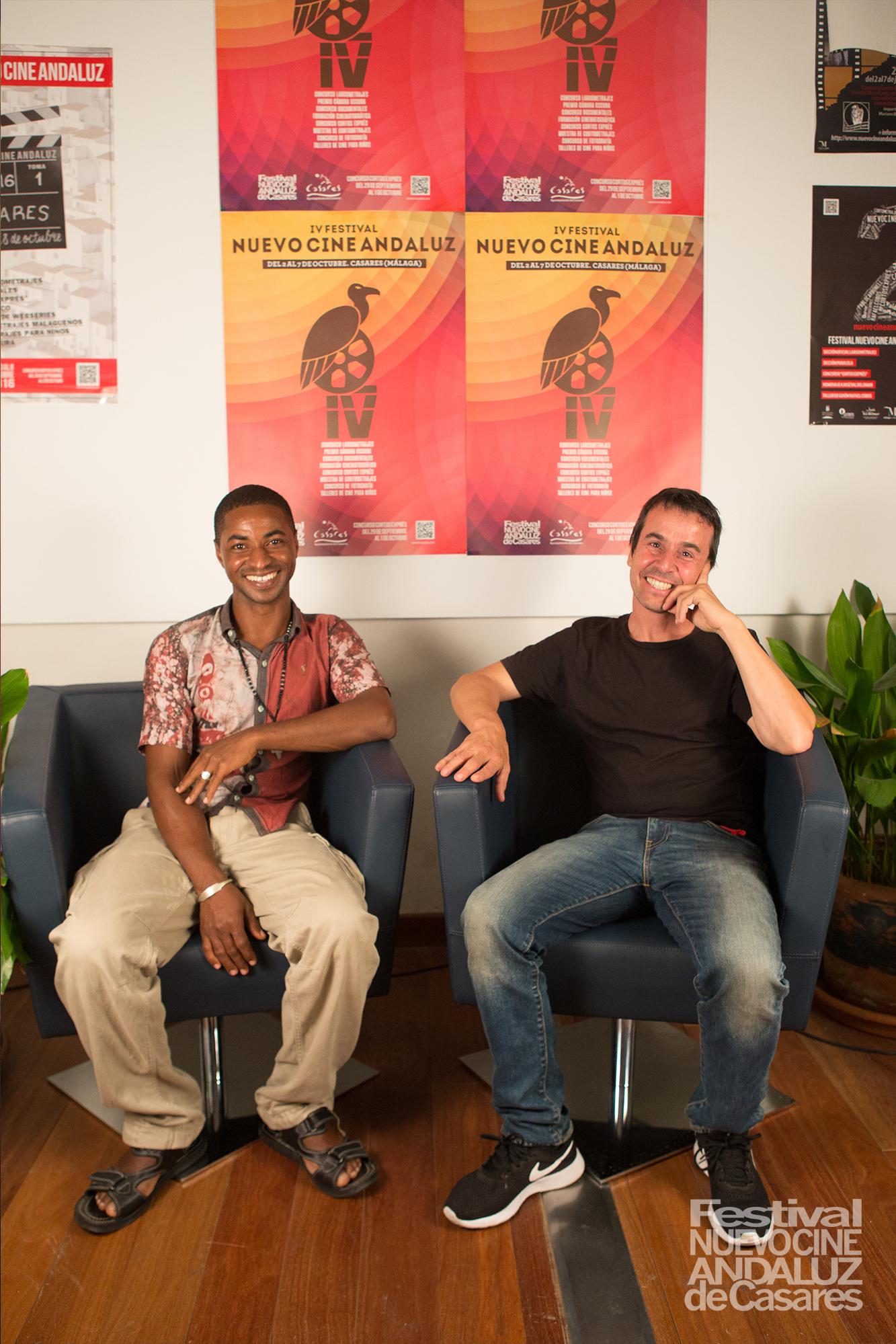 """Mariano Agudo y Mahmoud Traoré. """"Samba. Un nombre borrado"""""""