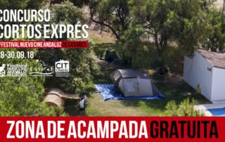 Cortos Exprés 2018 - Zona de acampada gratuita