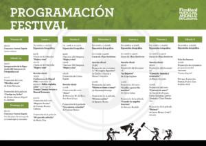 Programa V Festival Nuevo Cine Andaluz (Casares, 2018)