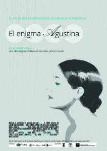 El enigma Agustina, de Emilio J.García y Manuel González. Festival Nuevo Cine Andaluz 2018