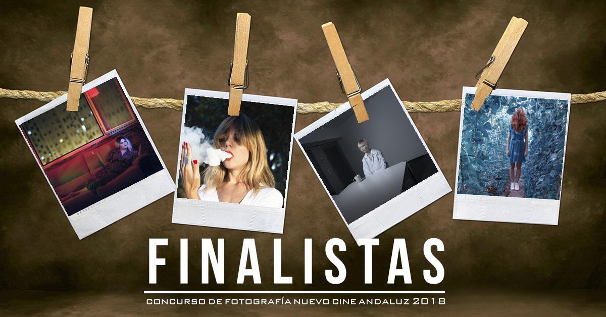 Finalistas Concurso de Fotografía Nuevo Cine Andaluz 2018