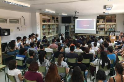 Charlas Mujer y Cine para jóvenes estudiantes