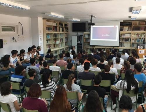 Más de medio millar de estudiantes de Málaga asisten a las charlas 'Mujer y Cine'