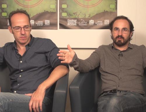 """Entrevista a Gonzalo Bendala y Pablo Cervantes. """"Cuando los ángeles duermen"""""""