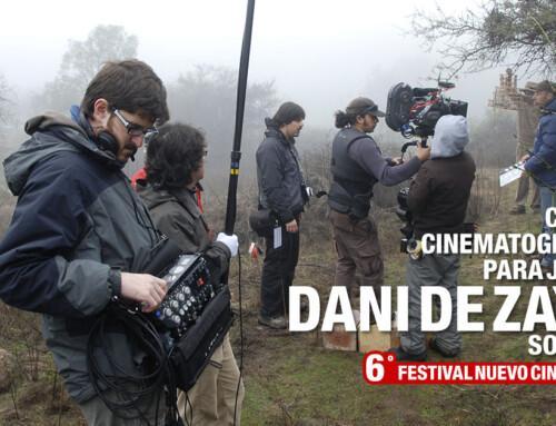Charlas de cine para jóvenes, con el sonidista Dani de Zayas