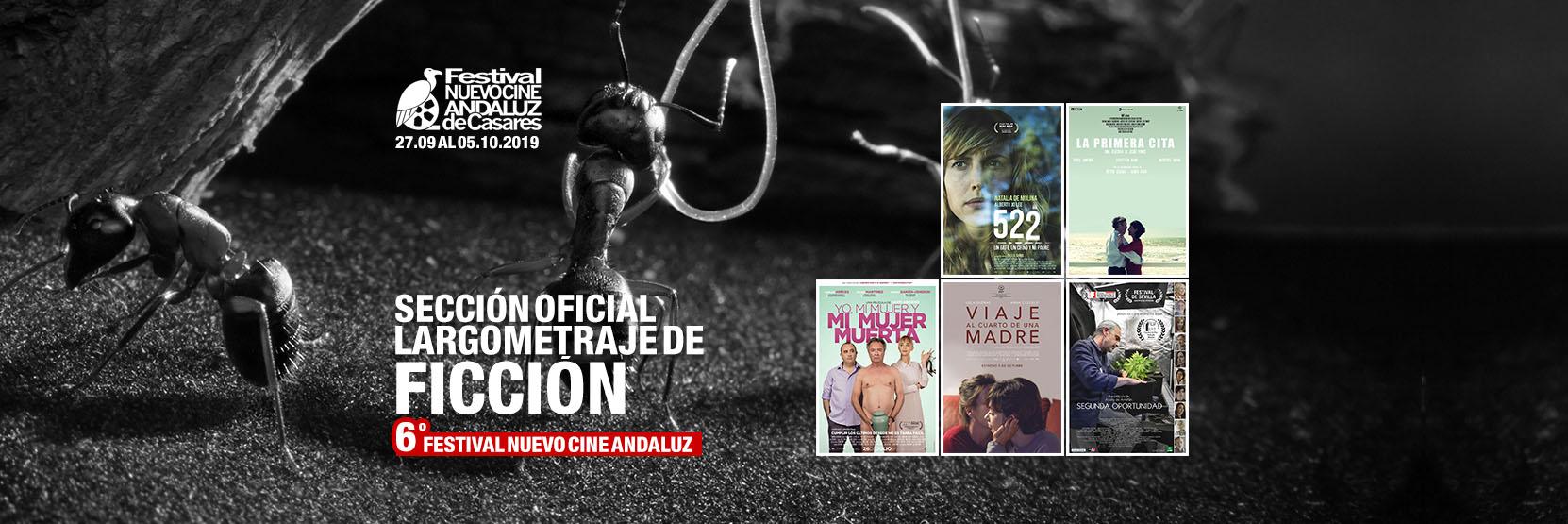 Sección oficial de Largometrajes de Ficción VI Festival Nuevo Cine Andaluz