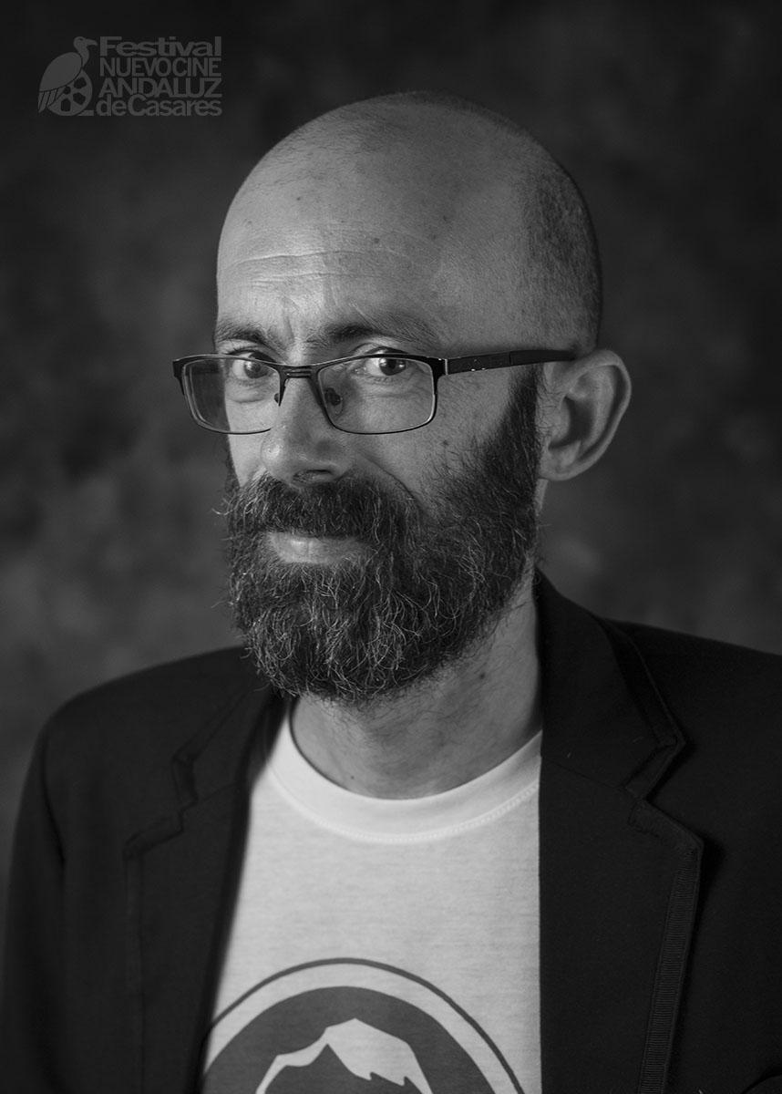 José Antonio Valencia. Responsable de programación Festival Nuevo Cine Andaluz