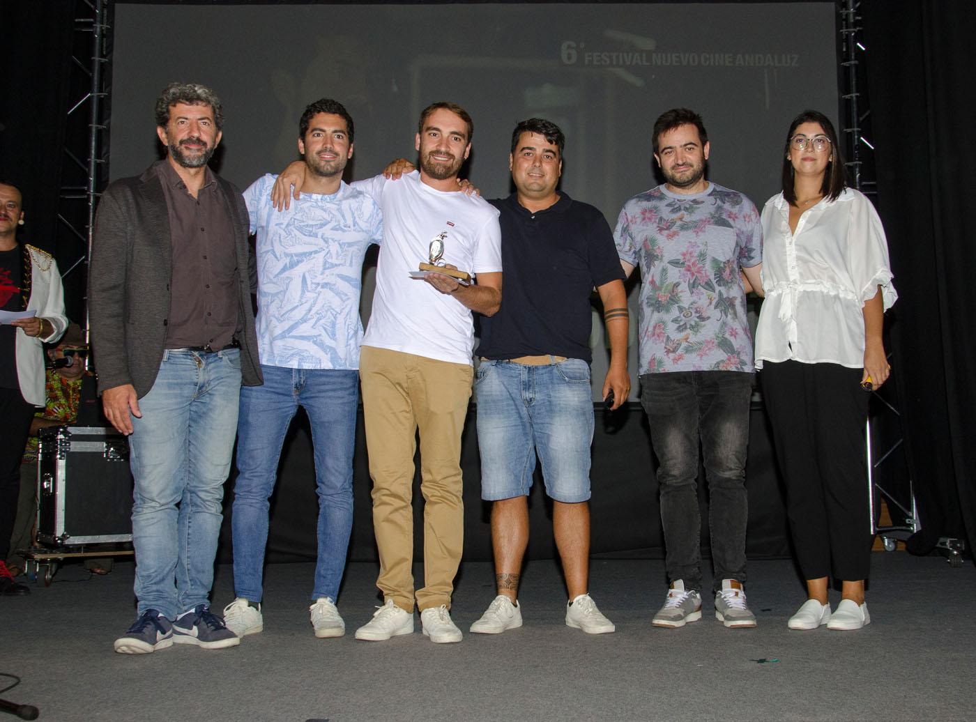 Alberto Rodríguez entrega el primer premio de concurso de Cortos Exprés 2019