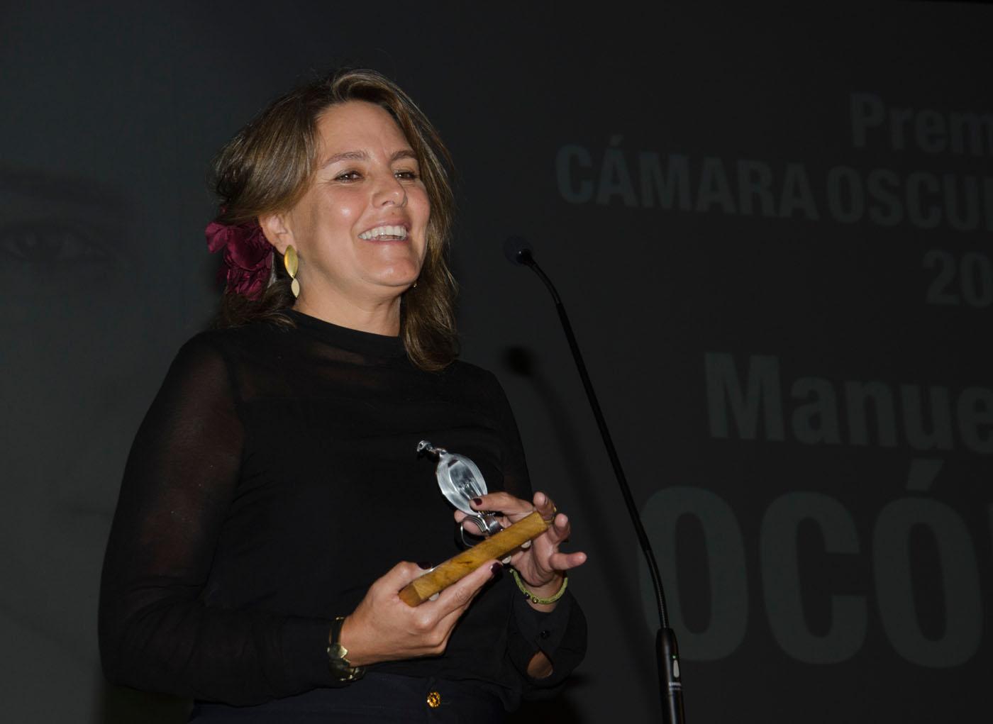 Manuela Ocón, premio Cámara Oscura 2019