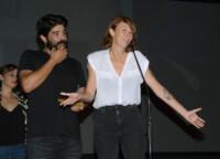 """Pablo Macías y Soledad Villalba, director y correalizadora de """"La vida perra"""", premio al Mejor Documental del Jurado"""