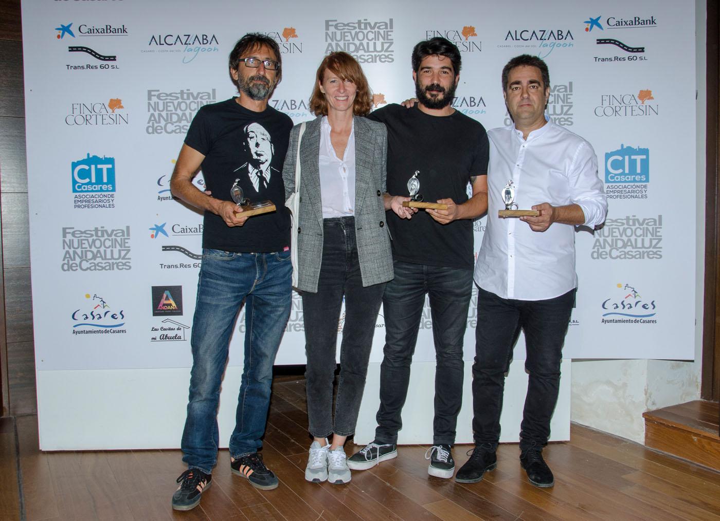 Paco R. Baños, Soledad Villalba, Pablo Macías y Jesús Ponce