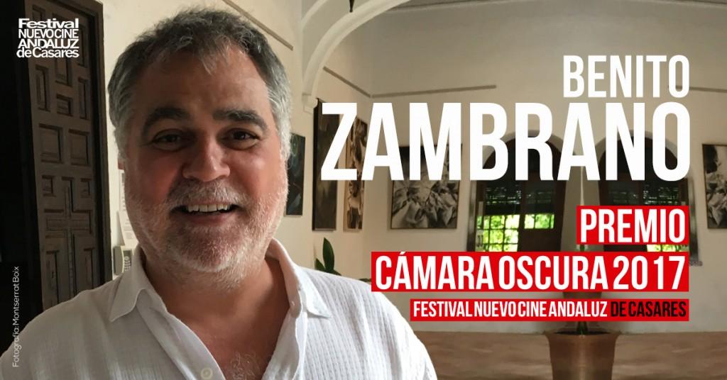Benito Zambrano, premio Cámara Oscura 2017 - Nuevo Cine Andaluz