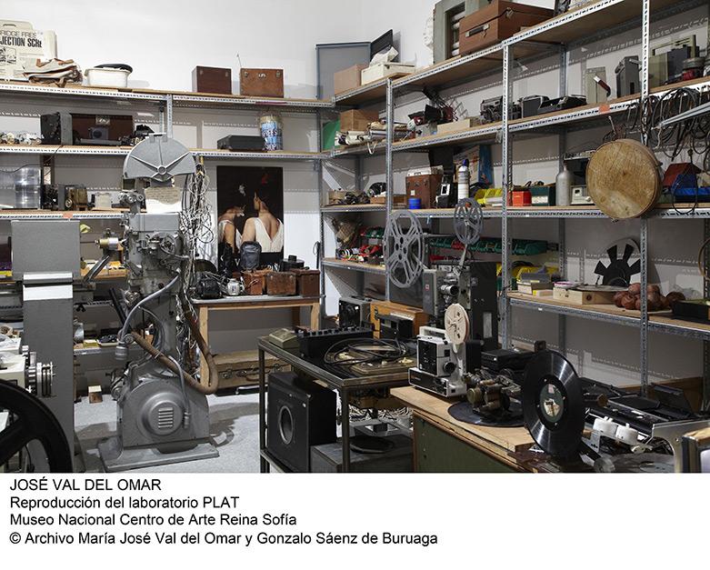 Laboratorio de José Val del Omar