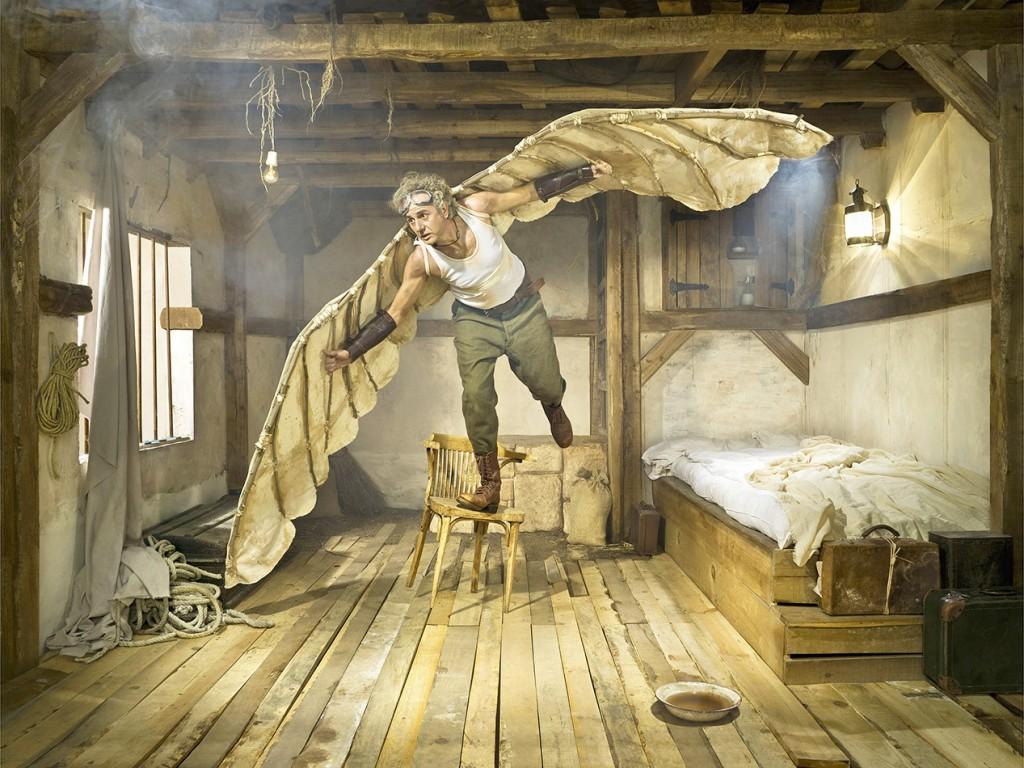 El hombre pájaro. Autor: Fernando Bayona ©