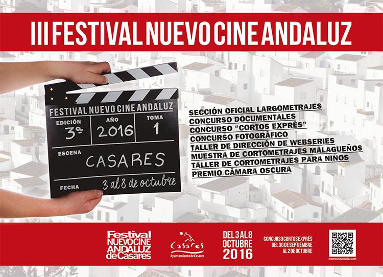 Programa 2016 Festival Nuevo Cine Andaluz de Casares