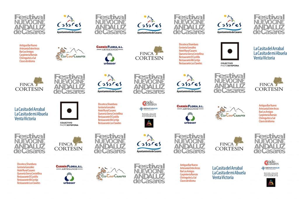 Patrocinadores III Festival Nuevo Cine Andaluz 2016