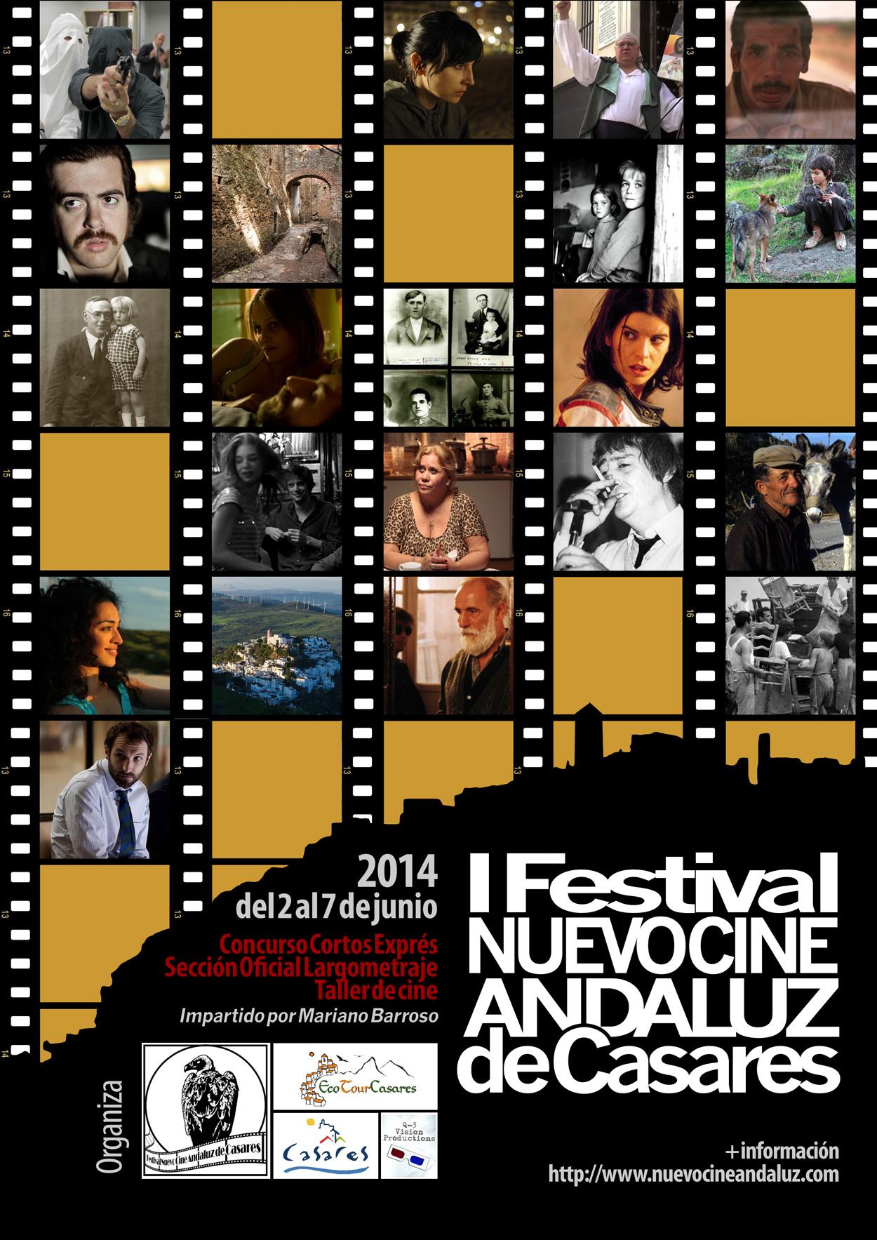 Cartel I Festival Nuevo Cine Andaluz 2014