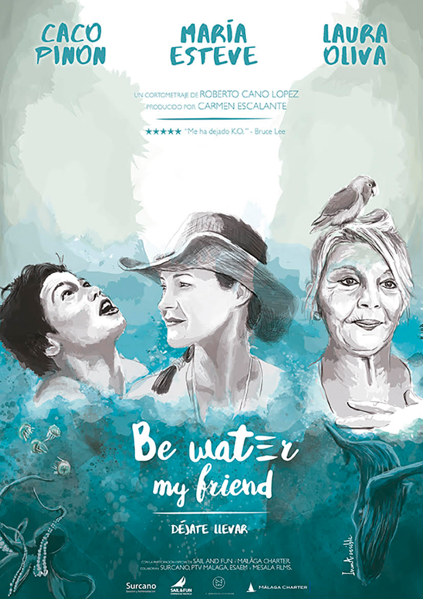 Be water my friend, de Robert Cano, en el Festival Nuevo Cine Andaluz (Casares, 2017)