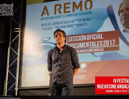 A remo, la aventura de Abraham Levy presentada por Paco Ortiz y Félix Vázquez