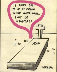 "Viñeta de Summers. ""Hermano Lobo"", num.1 (1972)"