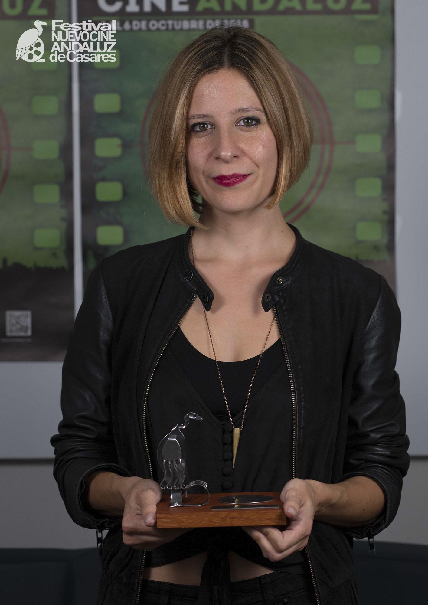 Mar Martín, premio del Concurso de fotografía Nuevo Cine Andaluz 2018