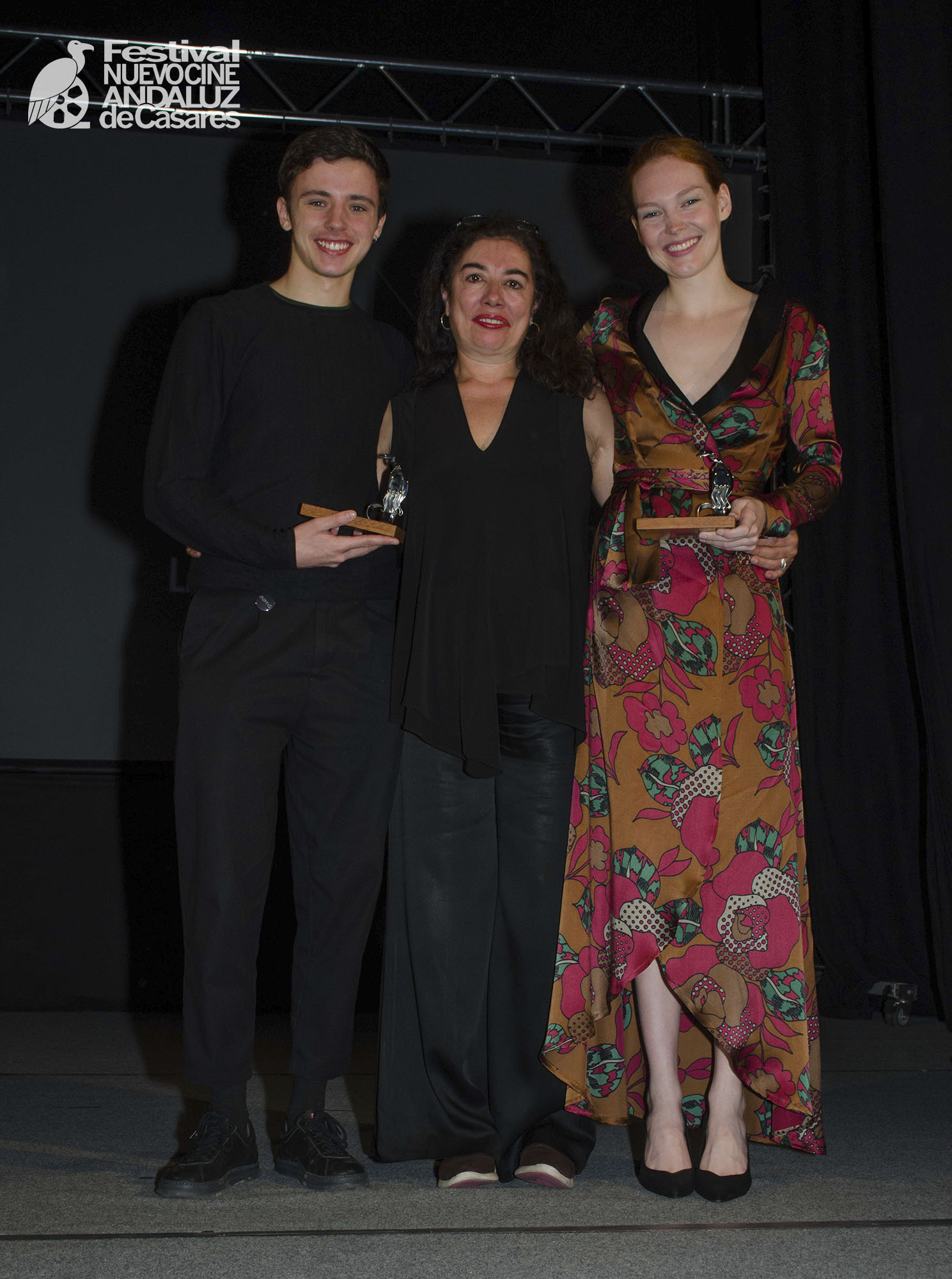 Iván Pellicer, Chus Gutiérrez y Clare Durant