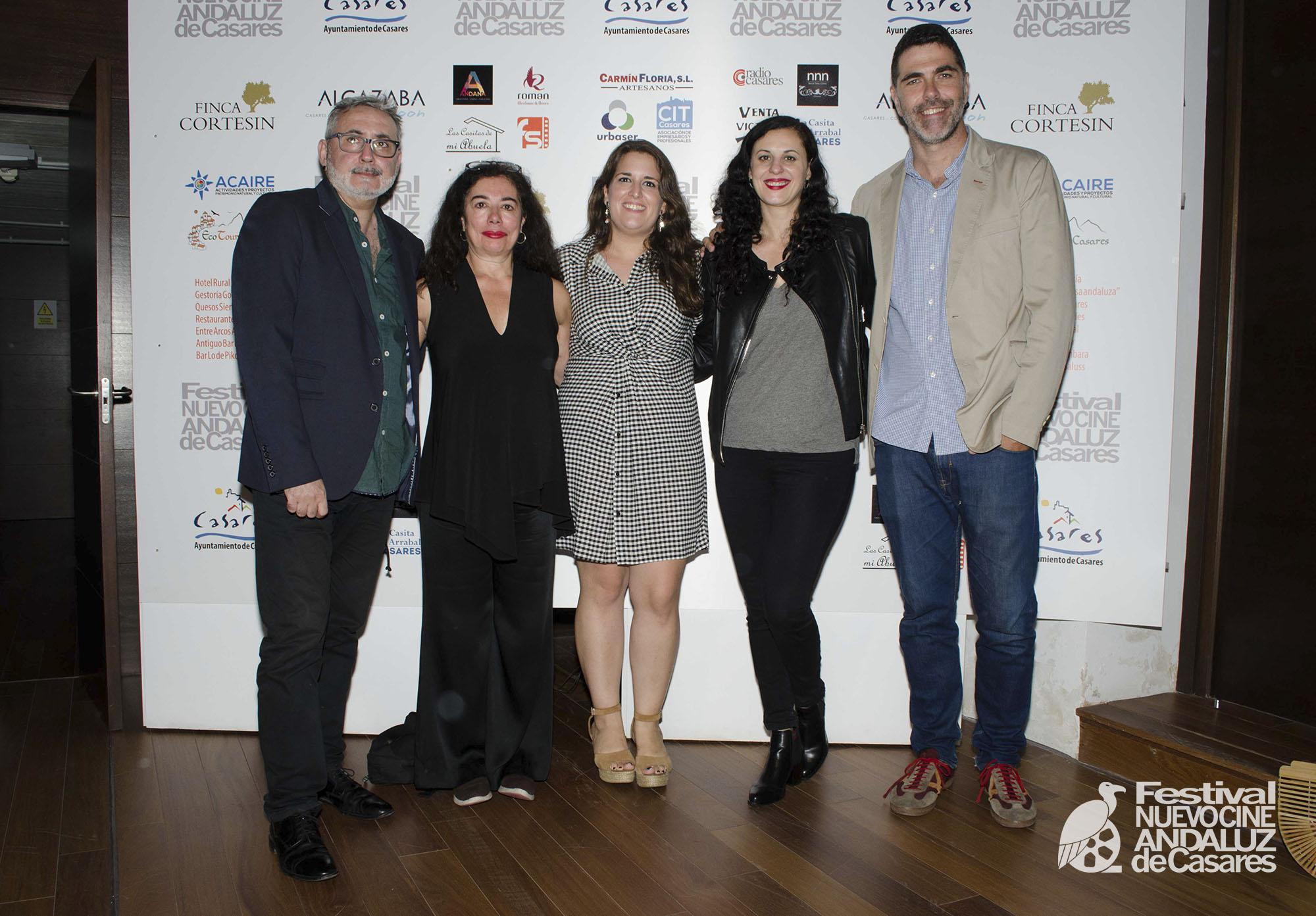 Jurado del V Festival Nuevo Cine Andaluz de Casares