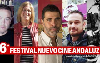 Jurado del Concurso de Cortos Exprés Nuevo Cine Andaluz 2019