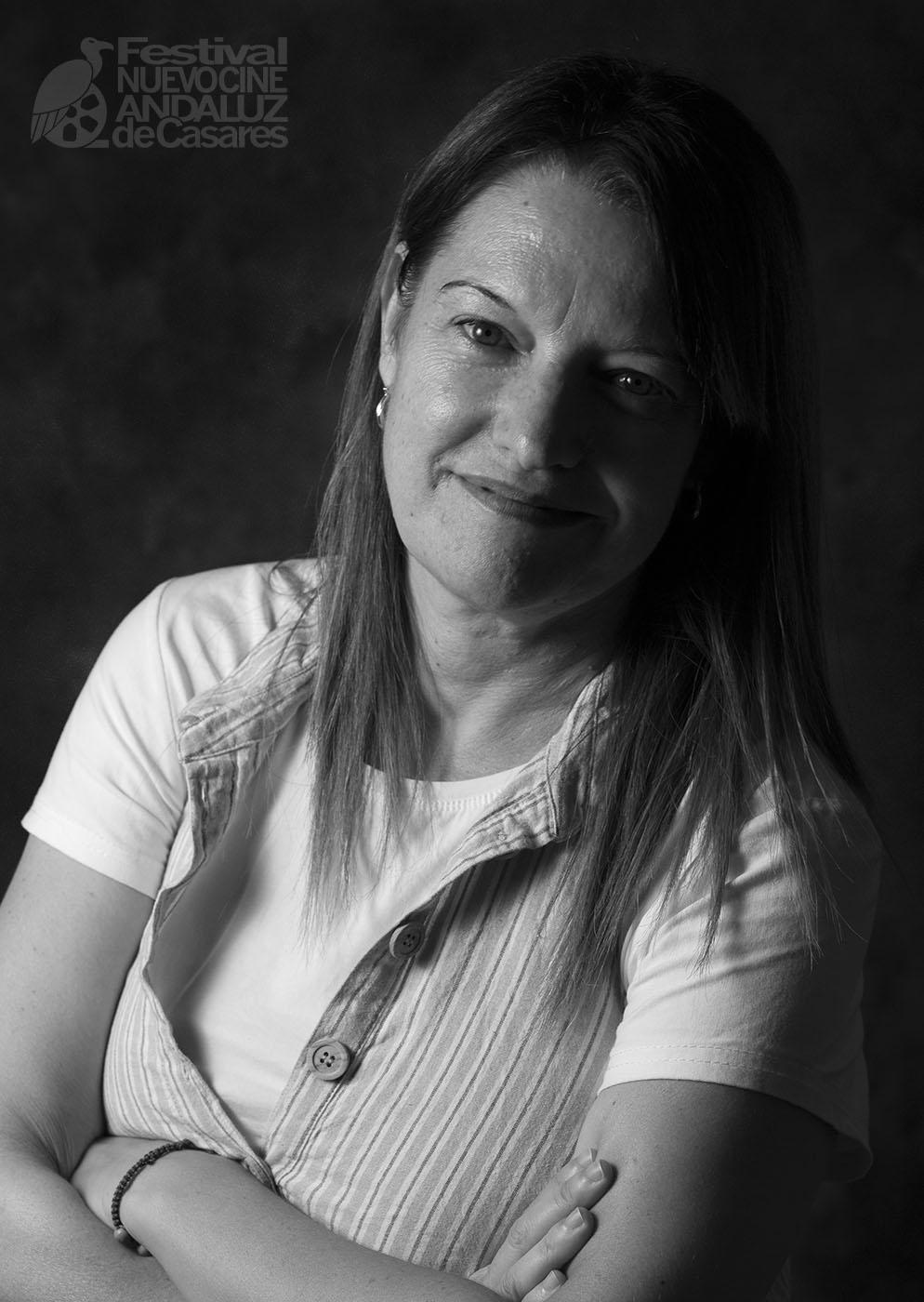 """Toñi Martín. Directora del corto """"Una mujer feliz"""""""