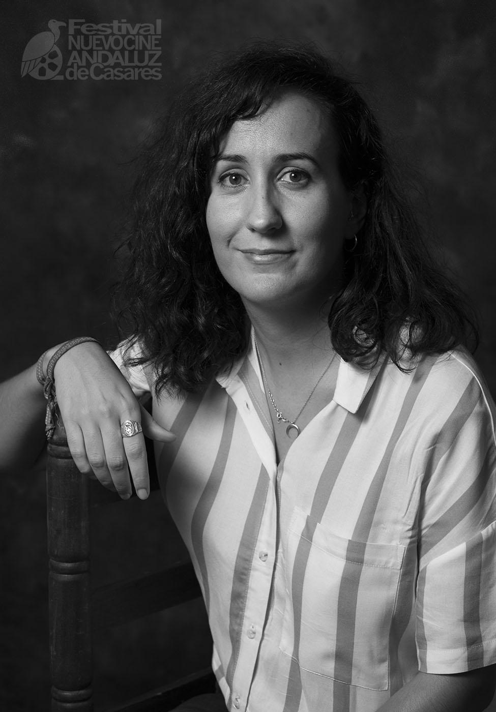 """Delia Márquez. Productora del corto """"Una mujer feliz"""""""