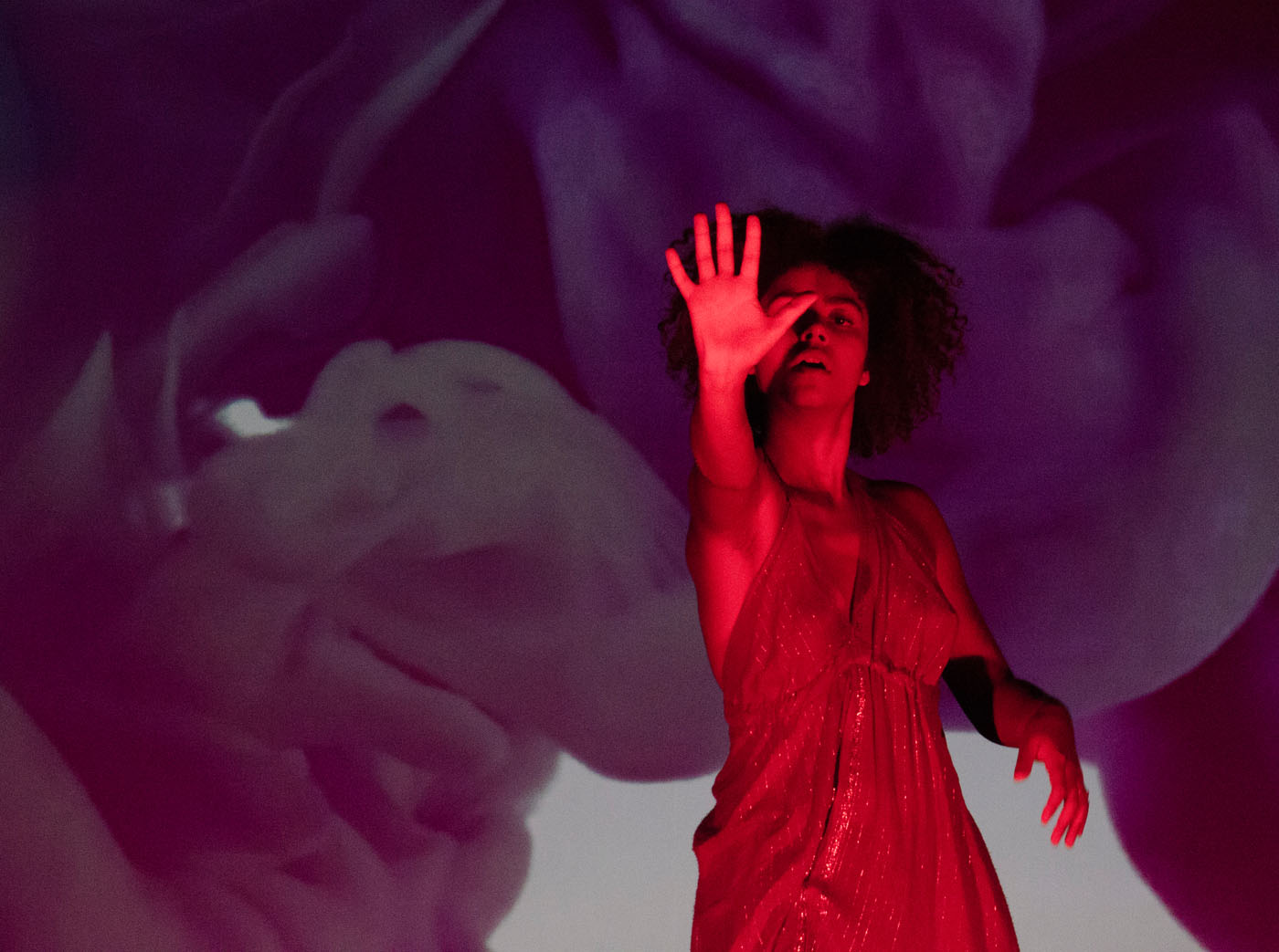 Danza contemporánea en la Gala de Clausura del VI Festival Nuevo Cine Andaluz
