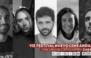 Jurado Concurso Cortos Exprés Nuevo Cine Andaluz 2020