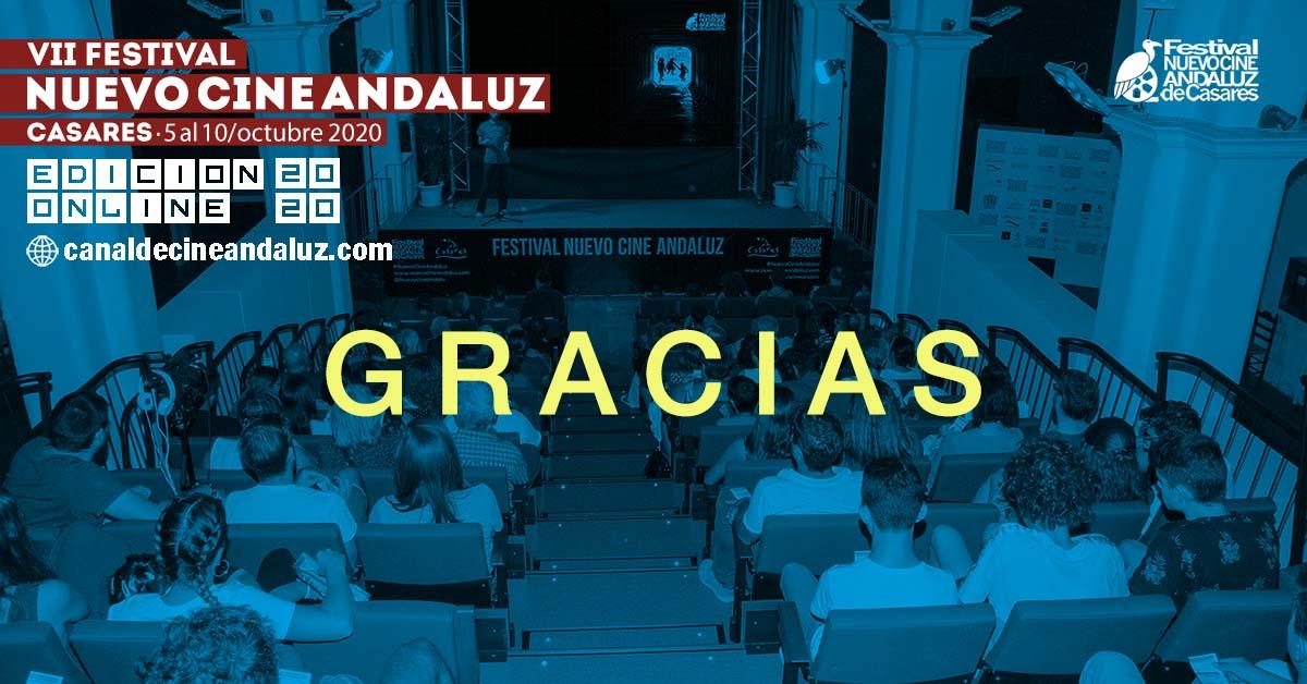 Agradecimientos VII Festival Nuevo Cine Andaluz