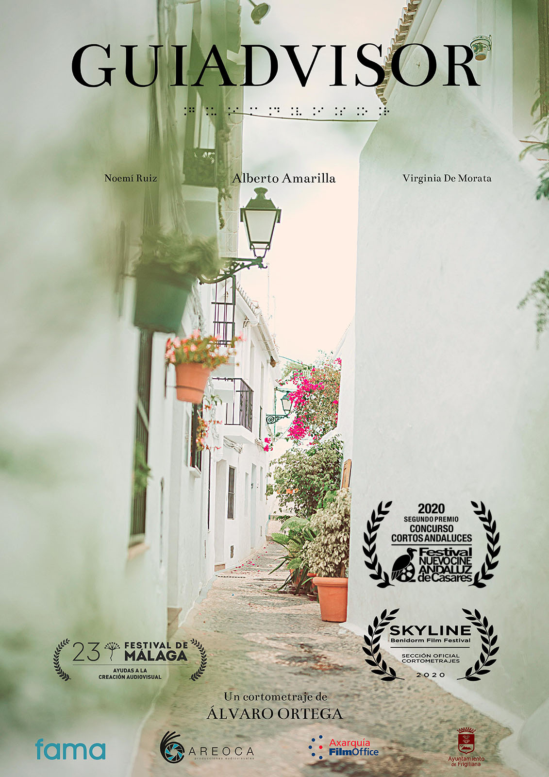 Guiadvisor, de Álvaro Ortega. Segundo Premio Concurso Cortos Andaluces Nuevo Cine Andaluz 2020
