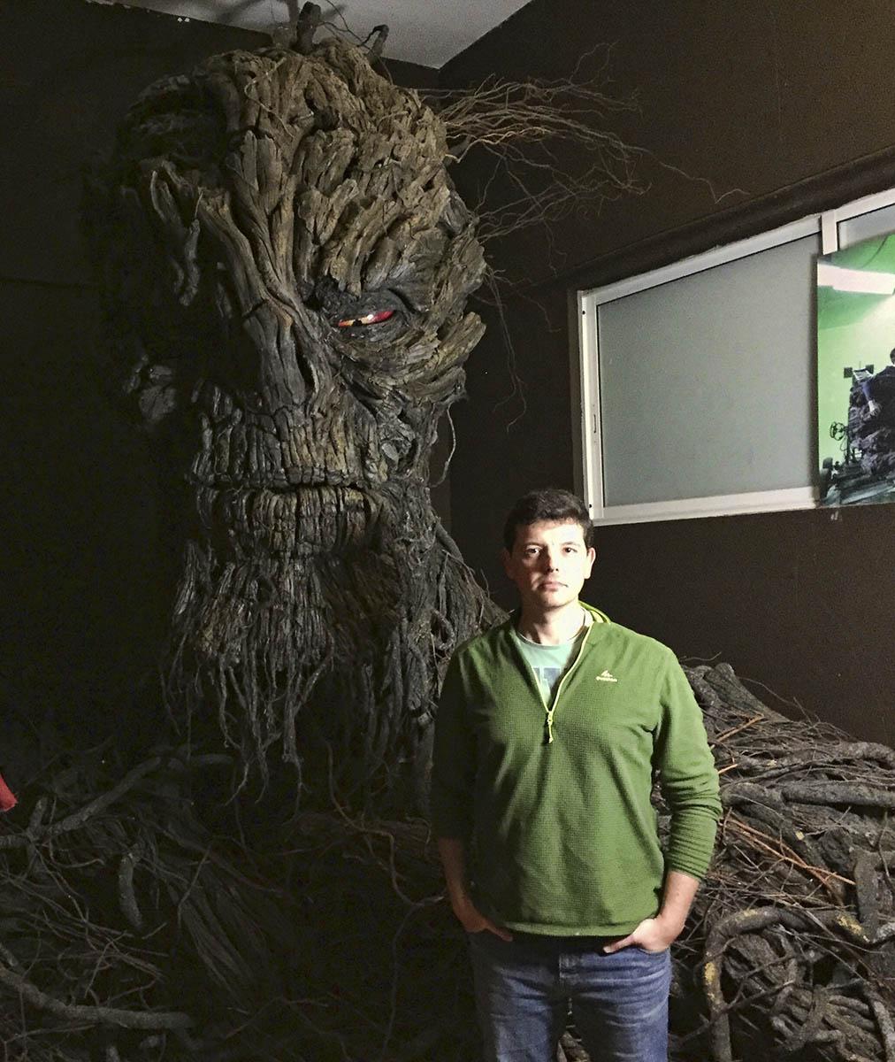 Animatrónics, creando criaturas para el cine (Javier Coronilla)
