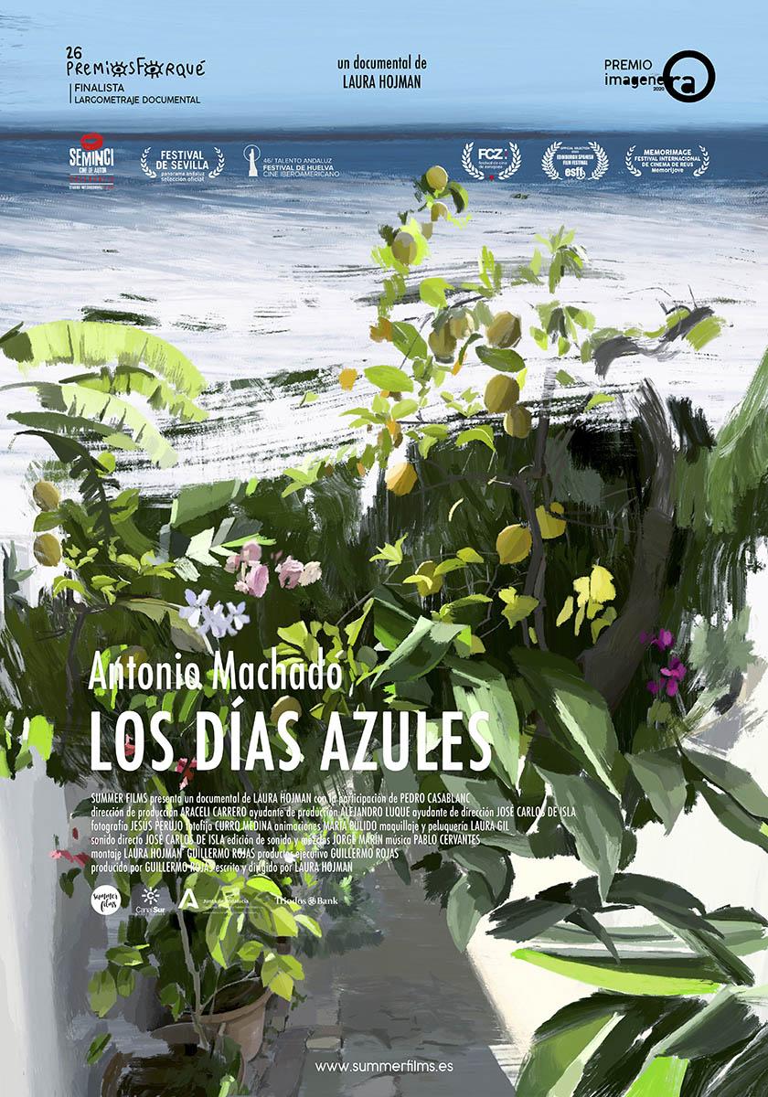 Antonio Machado. Los días azules, de Laura Hojman . Festival Nuevo Cine Andaluz 2021