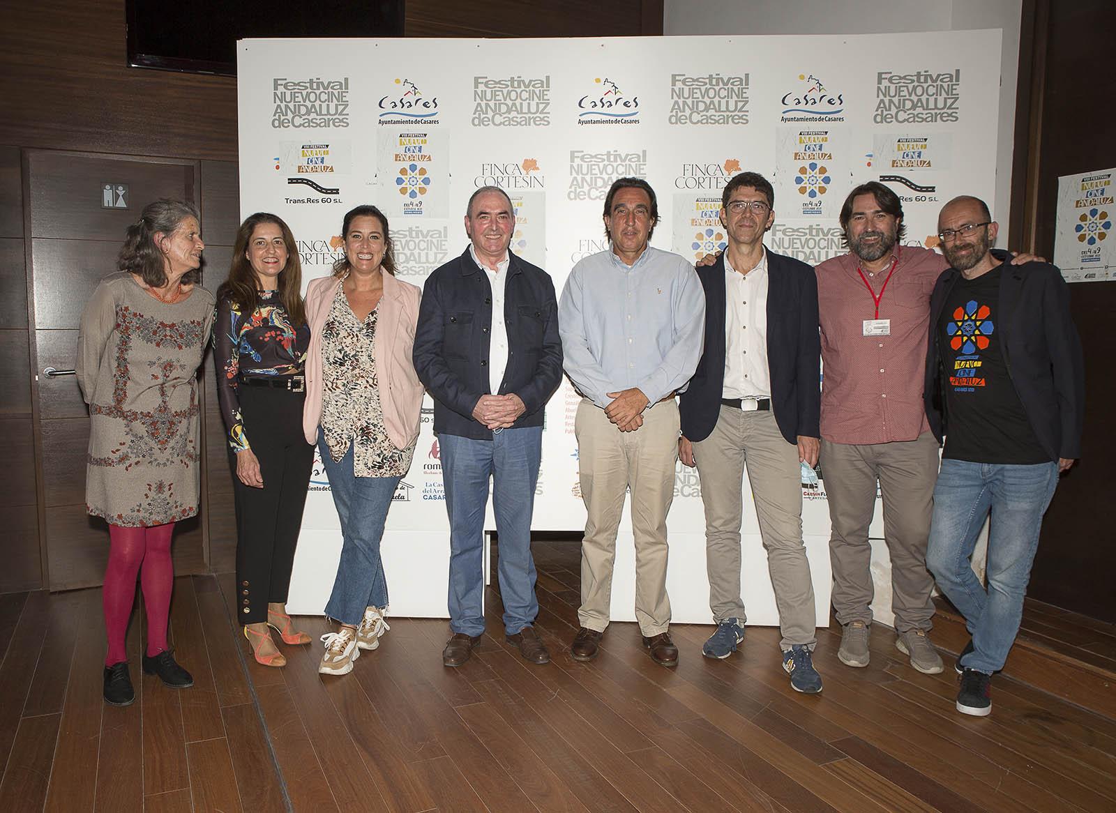 El ayuntamiento de Casares, principal patrocinador, y Finca Cortesín, patrocinador oficial del VIII Festival Nuevo Cine Andaluz de Casares 2021