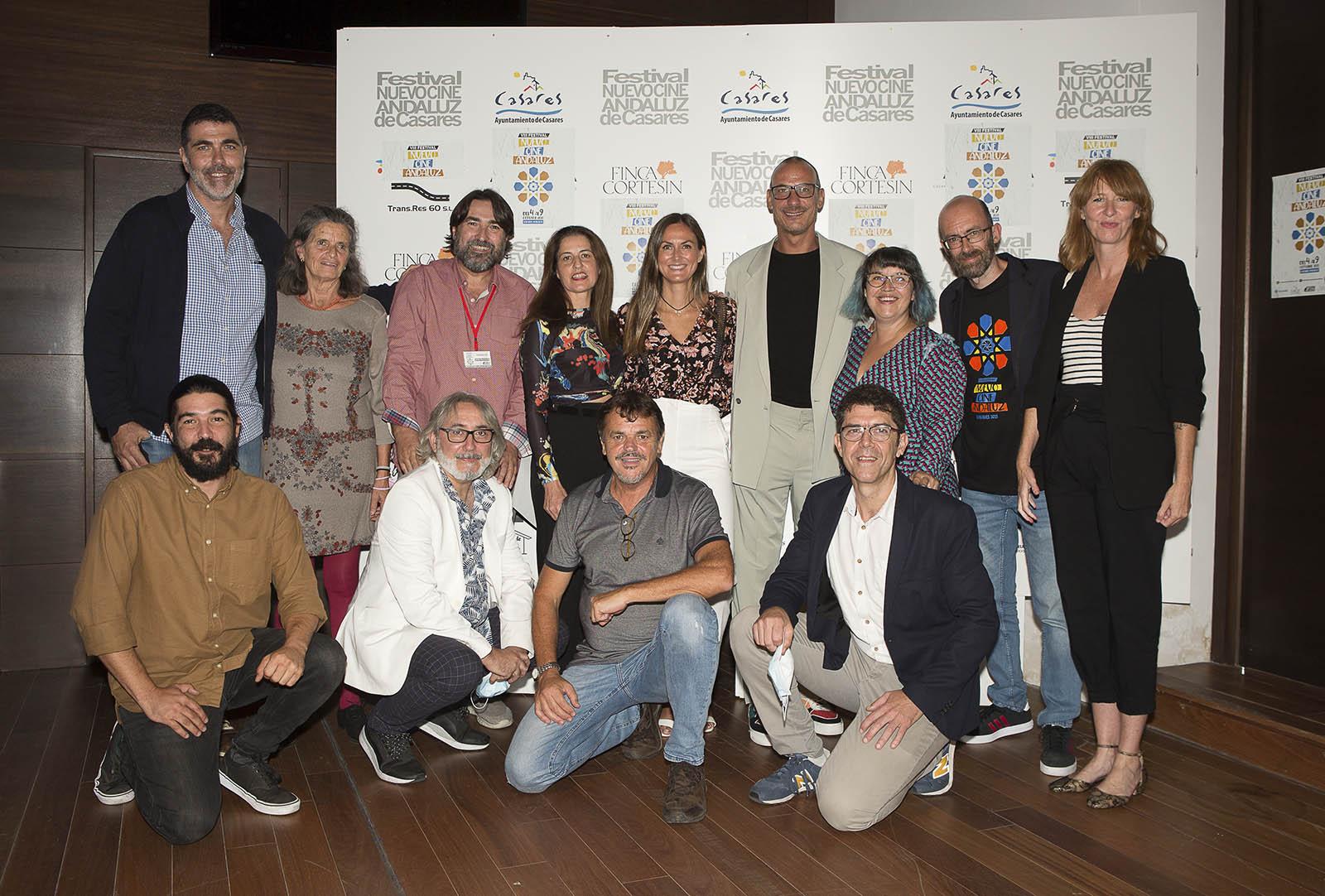 Organización y miembros del Jurado del VIII Festival Nuevo Cine Andaluz de Casares